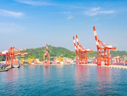 Keelung Harbor is located at the northern tip of Taiwan Island. Featuring both military and commercial applications, Keelung Port serves as an excellent harbor in Northern Taiwan.