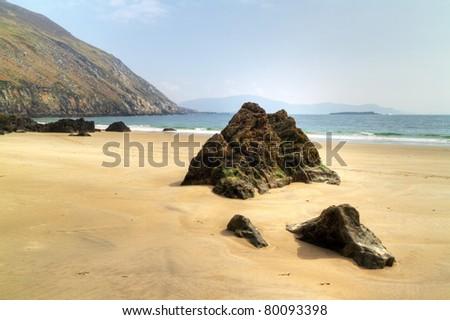 Keem Beach on Achill Island, Co. Mayo - Irleland