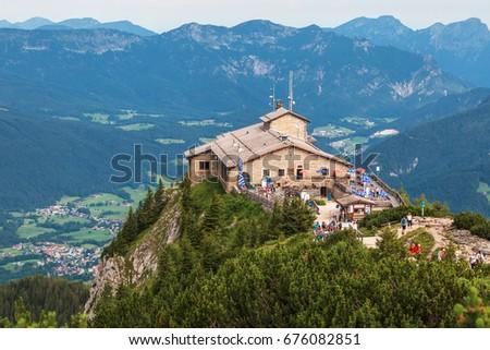 Kehlsteinhaus, Eagle Nest, Berchtesgaden in Germany