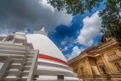 Kelaniya ancient temple and dagoba in Sri Lanka