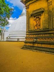 Kelaniya Temple in Colombo, Sri Lanka
