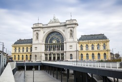 Keleti Train Station, Budapest city center, Hungary