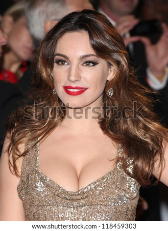 Kelly Brook arriving for the Royal World Premiere of 'Skyfall' at Royal Albert Hall, London. 23/10/2012