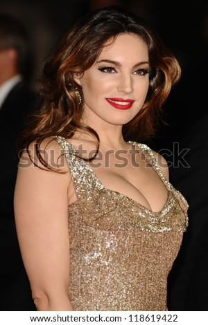 Kelly Brook  arriving for the Royal World Premiere of 'Skyfall' at Royal Albert Hall, London. 23/10/2012 Picture by: Steve Vas