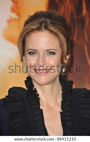 "Kelly Preston at the world premiere of her new movie ""The Last Song"" at the Arclight Theatre, Hollywood. March 25, 2010  Los Angeles, CA Picture: Paul Smith / Featureflash"