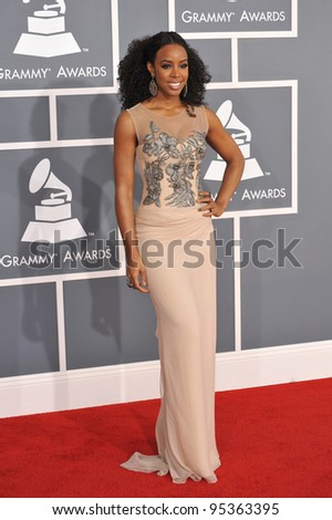 Kelly Rowland at the 54th Annual Grammy Awards at the Staples Centre, Los Angeles. February 12, 2012  Los Angeles, CA Picture: Paul Smith / Featureflash
