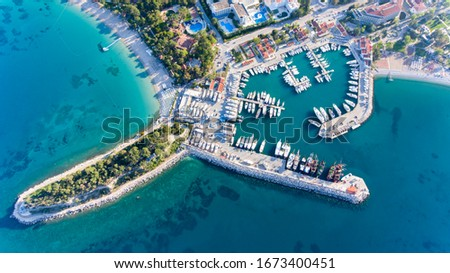 kemer holiday place from antalya turkey Stok fotoğraf ©
