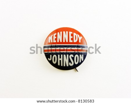 Kennedy campaign pin