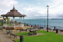 Kennedy Park at the coastal town of Cobh in Ireland