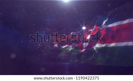Kenya  flag for background