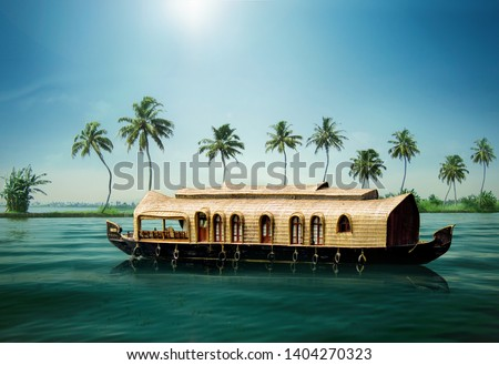 KERALA BOAT HOUSE INDIA TOURISM Kerala's Backwaters India