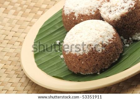 Kerala Puttu - An Indian breakfast dish