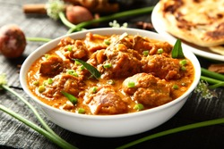 Kerala recipe - Delicious homemade chicken curry.