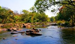 Kerala tourism - lake in kuruva dweep wayanad in kerala