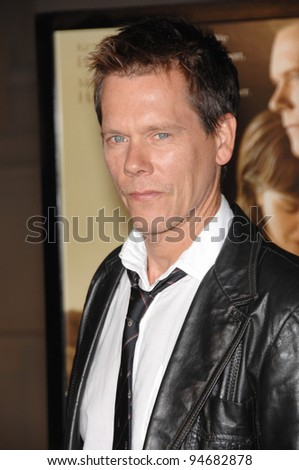 "Kevin Bacon at the Los Angeles premiere of his new movie ""Rails & Ties"" at Warner Bros. Studios, Burbank, CA. October 24, 2007  Los Angeles, CA Picture: Paul Smith / Featureflash - stock photo"