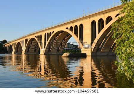 Key Bridge in Washington DC
