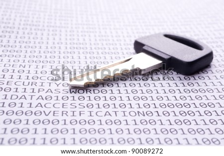 Key is on the list with a binary code and few words about safety
