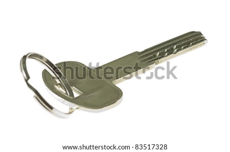 key isolated on a white background