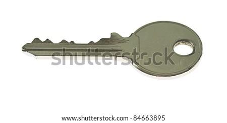 key isolated on a white background