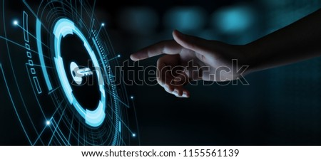 Key Keywords Icon Business Internet Technology Concept.
