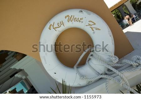 Key West Florida life preserver