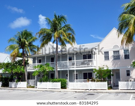 Key West Style Florida Beach houses