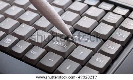 Keyboard Computer with pen