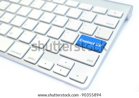 Keyboard Contact Us button