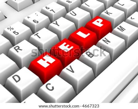 Keyboard. help. 3d