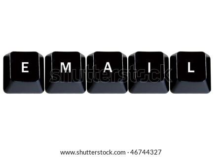 keyboard keys email