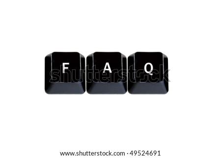 keyboard keys faq