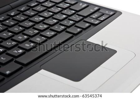 Keyboard laptop - stock photo