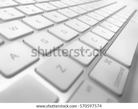 Keyboard of a computer #570597574
