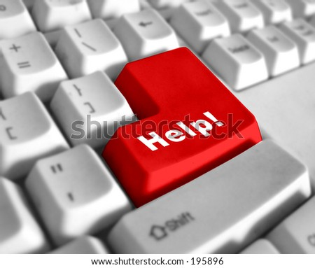 Keyboard - with a big HELP