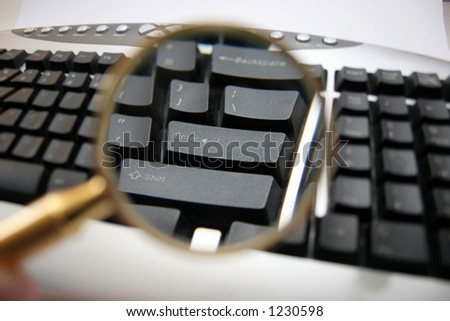 keyboard with clack