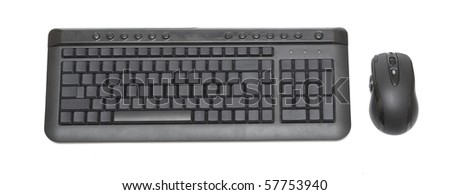 keyboard without inscriptions on keys