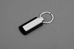 Keychain with space for text or logo