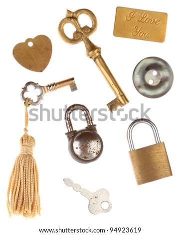 Keys Locks Tags