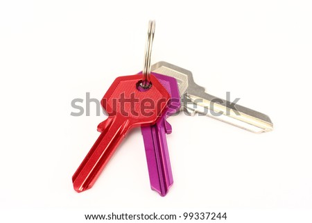Keys to the apartment