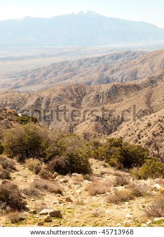 keys view of desert mountains