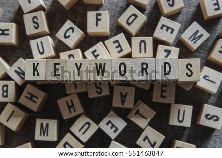 KEYWORDS word concept