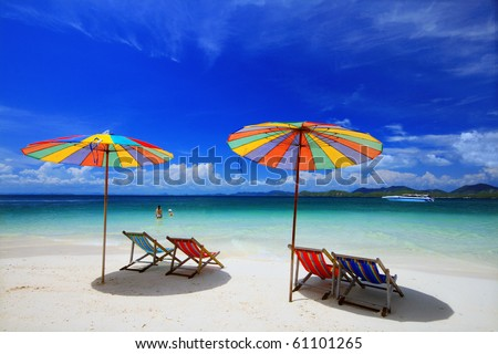 Khai Island, Phuket Province, South Of Thailand Stock Photo ...