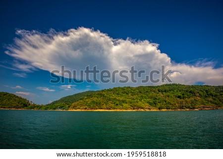 Khai Tao bay at Mu Ko Ranong National Park, Ranong province, Thailand. Zdjęcia stock ©