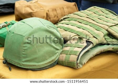 khaki military helmet.  Military Helmet. Soldier helmet.  #1511956451