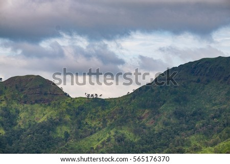 Khao ChangPhuek, mountain against sky, Karnjanaburi, Thailand #565176370