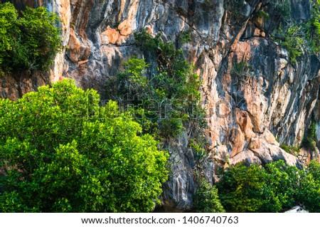 Khao Daeng Limestone hill, KHAO SAM ROI YOT National Park, Thailand #1406740763