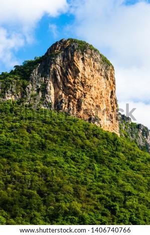 Khao Daeng Limestone hill, KHAO SAM ROI YOT National Park, Thailand #1406740766