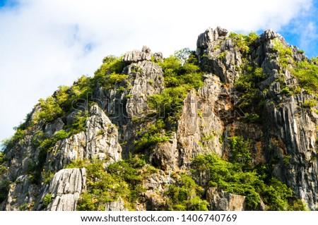 Khao Daeng Limestone hill, KHAO SAM ROI YOT National Park, Thailand #1406740769