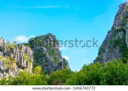 Khao Daeng Limestone hill, KHAO SAM ROI YOT National Park, Thailand #1406740772