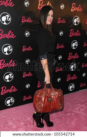 Khloe Kardashian at Barbie\'s 50th Birthday Party. Barbie\'s Real-Life Malibu Dream House, Malibu, CA. 03-09-09